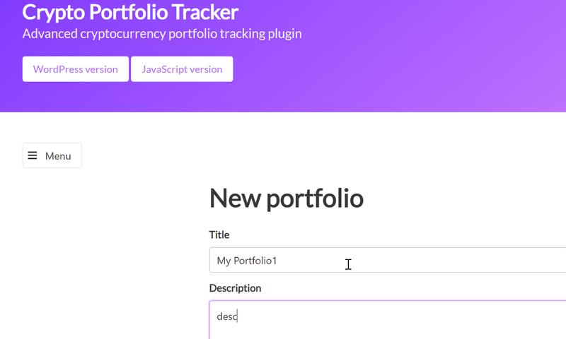 плагин Crypto Portfolio Tracker отзывы