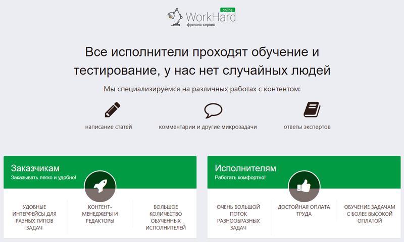 workhard online Отзывы