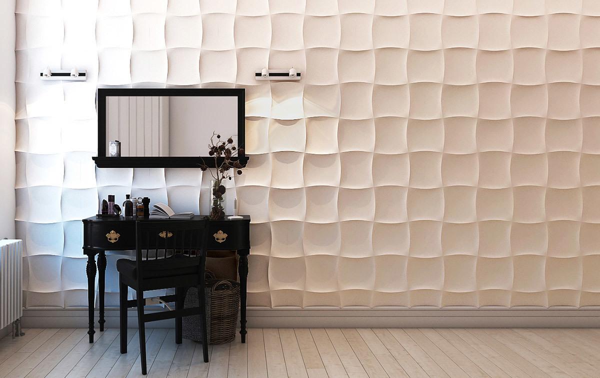 варианты отделки стен - панели