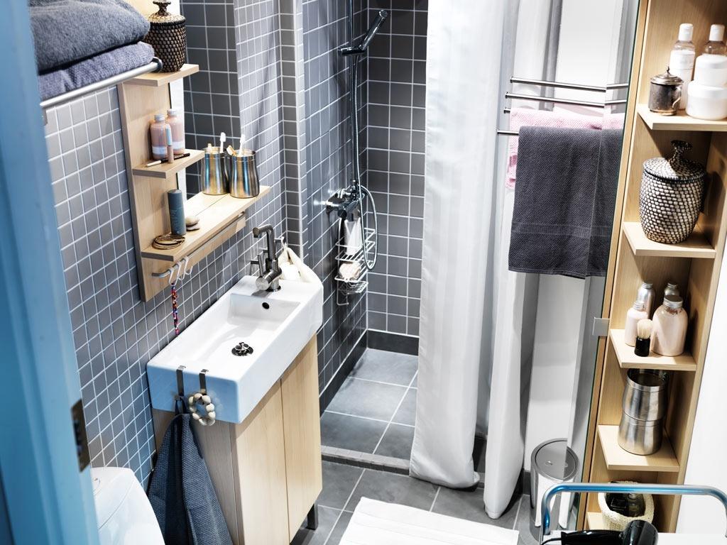 Места хранения в ванной комнате