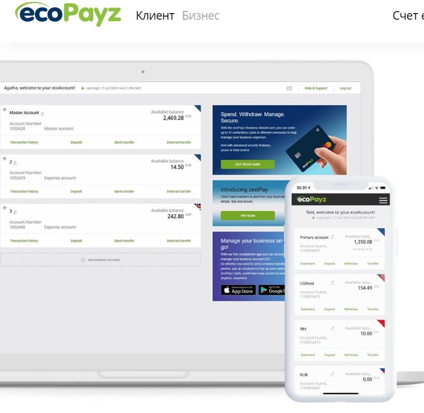 отзывы ecoPayz